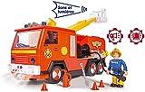 Smoby - Sam le Pompier - Camion Pompier Jupiter + 1 Figurine - Sons et Lumières...