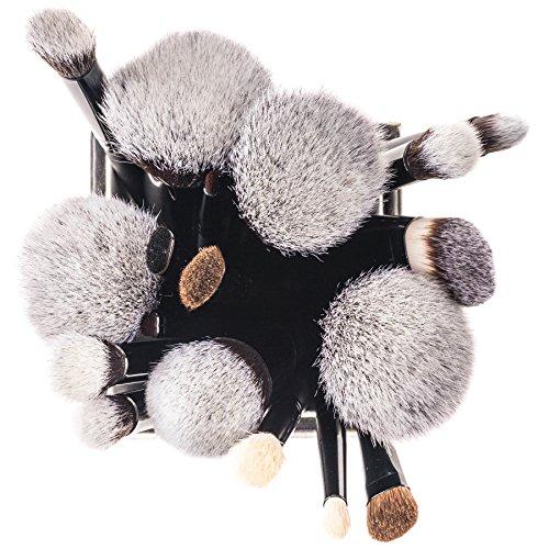 Product Image 7: SHANY Artisan's Easel – Elite Cosmetics Brush Collection, Complete Kabuki Makeup Brush Set with Standing Convertible Brush Holder, 18 pcs
