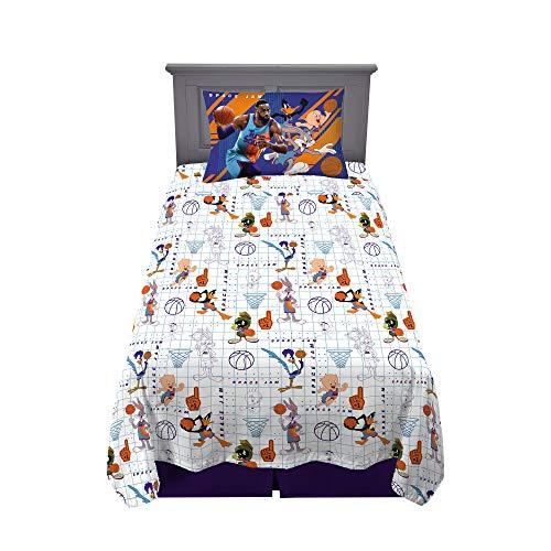 Franco Kids Bedding Super Soft Microfiber Sheet Set, 3 Piece Twin Size, Space Jam 2 A New Legacy