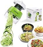 N\A KAIMIRUI Coupe-légumes manuel 4 en 1 Râpe à légumes Calabacin Pâte...