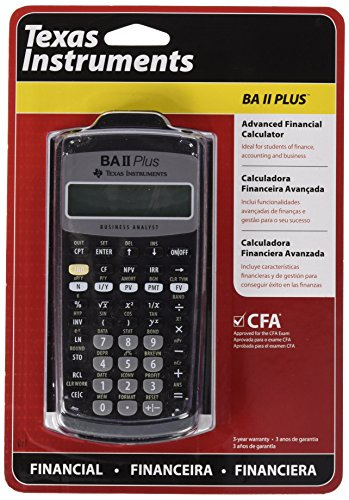 (Texas Instruments) Advanced Financial Calculator