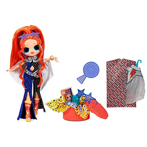 Image 1 - Poupée Mannequin LOL Surprise OMG Dance Dance Dance Major Lady, avec 15 Surprises, vêtements de créateur, Lumière Noire Magique, Accessoires, Chaussures et Pack TV. Pour les filles à partir de 4 ans