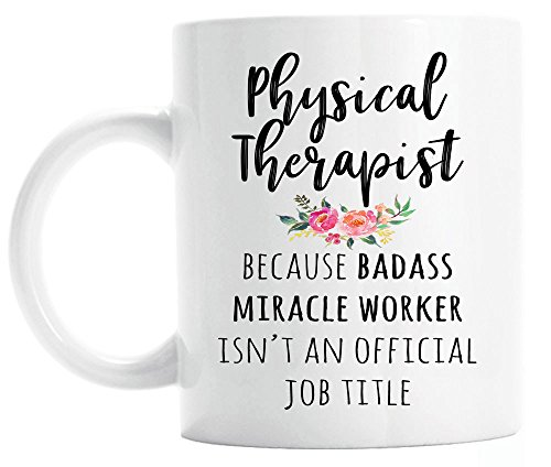 Gift for Physical Therapist, Funny Physical Therapist Coffee...