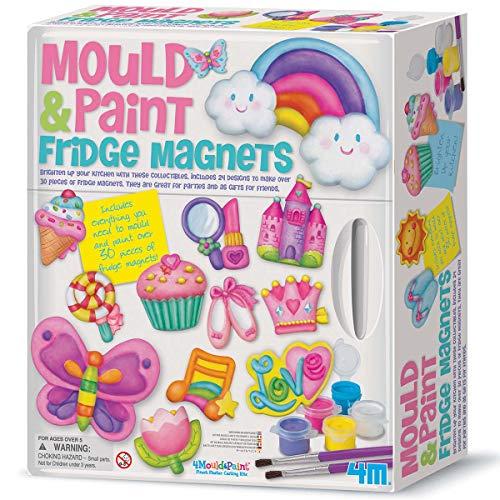 Great Gizmos 4M - Mould & Paint Fridge Magnets (004M3536