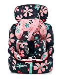 Cosatto Zoomi Car Seat - Group 1 2 3, 9-36 kg, 9 Months-12 years, Side Impact Protection, Forward Facing (Paper Petals)