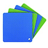 Silicone Pot Holders Set of 4...