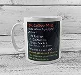Epic Coffee Mug' 11oz Gift Mug Wow Wargaming Gift Coffee Mug Tea Cup White 11 Oz Mug