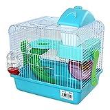 Di Ze Lin Pet Home S.L DZL Cage pour hamster avec niche, roue,...