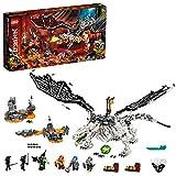 LEGO71721NinjagoDragóndelBrujodelosMuertosJuguetedeConstrucción