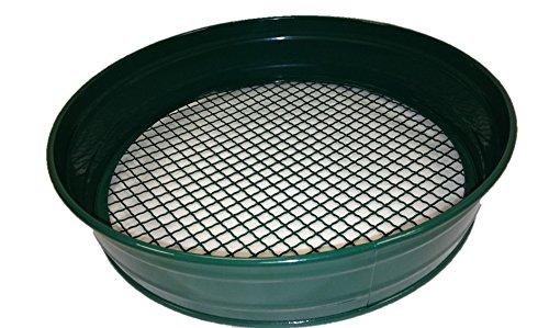 Greenkey 757 12 mm Maschen Gartensieb aus Metall, Grün