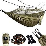 NATUREFUN Hamac Ultra-léger de Voyage Camping | 300 kg Capacité de Charge,(275 x 140 cm)...