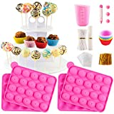 Cake Pop Maker Set with Silicone...