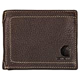 Carhartt Mens' Passcase Wallet, Black, One Size