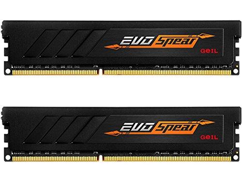 GeIL 16GB(2 x 8GB)EVO SPEAR DDR4 PC4-24000 3000MHz 288ピンデスクトップメモリモデルGSB416GB3000C1...