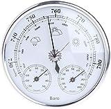 ZUEN Baromètre analogique thermomètre, baromètre de température et d'humidité...
