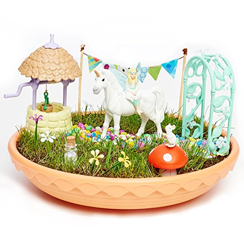Fairy Garden- Jardín de Los Unicornios,, única (CEFA Toys 04616)