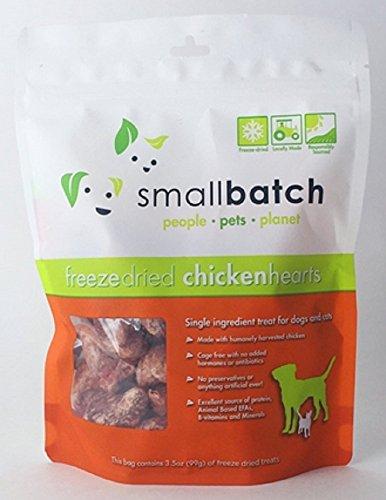 Smallbatch Pets Premium Freeze-Dried Chicken Heart...