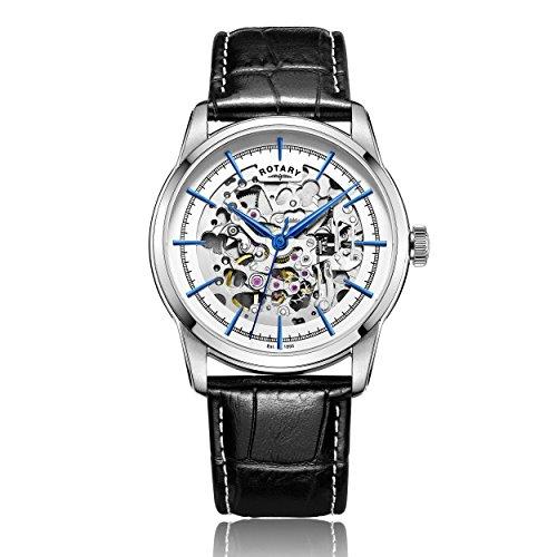 Rotary Herren-Armbanduhr Analog Automatik Leder - GS00342/06