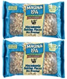Mauna Loa Roasted Unsalted Macadamia Nut Baking Pieces - 6 oz - 2 pk