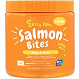 Salmon Fish Oil Omega 3 for Dogs - With Wild Alaskan Salmon Oil - Anti Itch Skin...