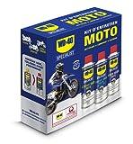 WD-40 Specialist Moto • Kit Entretien Moto • un Nettoyant Chaîne • un...