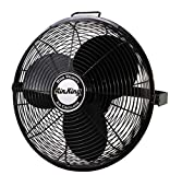 Air King 9318 Industrial Grade High Velocity Multi Mount Fan, 18-Inch,Black