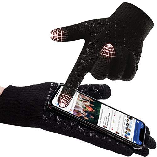 abbigliamento uomo guanti donna invernali touch screen caldi accessori uomo e donna supporto...