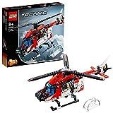 LEGO Technic L'hélicoptère de secours Jeu de construction, 8 Ans et Plus, 325...
