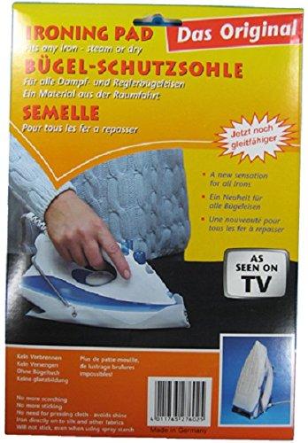 Bügeleisen Sohle Kleiderschutz