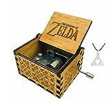 Cuzit The Legend of Zelda Boîte à musique en bois à manivelle Musique du film