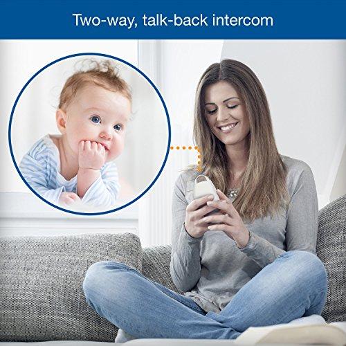 VTech-DM221-Audio-Baby-Monitor-with-up-to-1000-ft-of-Range-Vibrating-Sound-Alert-Talk-Back-Intercom-Night-Light-Loop