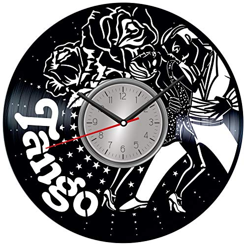 Tango Dance Vinyl Wall Clock - Home Decor Him Her Birthday...