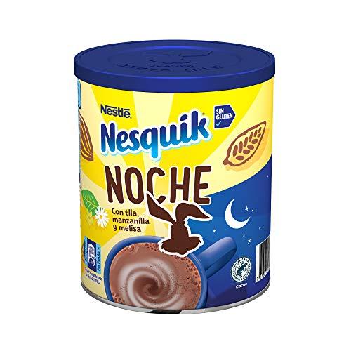 Nesquik Noche - Cacao Soluble Instantáneo - Pack de 2 x 400