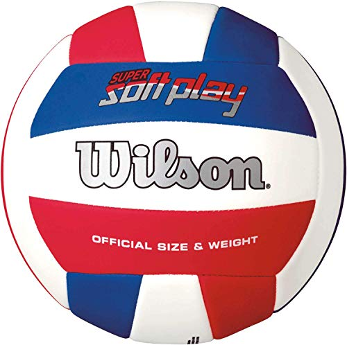 Wilson WTH3595XB Synthetic Super Soft Play Volleyball (Blue)