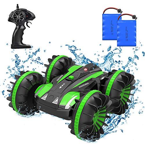 4WD Auto telecomandata per Bambini, auto acrobatica RC impermeabile 2.4Ghz 1/18 con telecomando 80m...