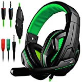 Gaming Headset,DLAND 3.5mm Wired Bass Stereo Noise Isolation Gaming...