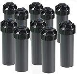 10 Pack Rainbird 5004-PC3.0 Rotor 4' 5000 Series Head Sprinkler Pop-Up Lawn Sprayer w/Pre-Installed Nozzle