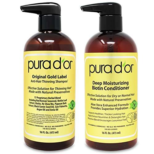 PURA D'OR Biotin Original Gold Label Anti-Thinning...