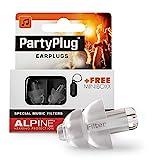 Alpine PartyPlug Bouchons d'Oreille Protection Auditive pour fêtes, musique, festivals et concerts...