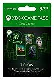 Récupérez votre code et activez-le sur votre compte Xbox. Celui-ci sera crédité de 9,99€. Utilisez ce crédit pour vous offrir un mois de Xbox Game Pass sur le store Xbox Avec l'abonnement Xbox Game Pass, profitez d'un large catalogue de plus de 150 j...