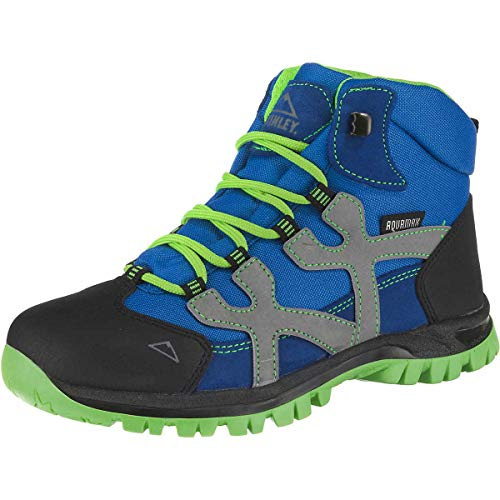 McKINLEY Santiago Pro Aquamax Trekking- & Wanderstiefel, Grün (Green Lime/Blue...