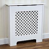 Vida Designs Oxford Cache-radiateur Traditionnel en Panneaux de Fibres à...