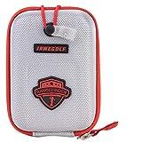 JAWEGOLF Carrying Cases Golf Rangefinder Case Bag for Bushnell Nikon Callaway Or Other Laser Rangerfinder (Silver)
