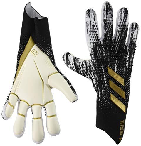 adidas Herren Pred Pro Handschuhe, Black/White/Goldmt, 9