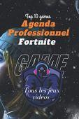 AGENDA FORTNITE PROFESSIONNEL BLANC NOIR: AGENDA POUR LES JEUX VIDÉOS