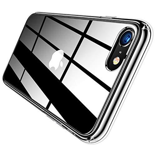 TORRAS iPhone SE ケース 第2世代 iPhone8/7 ケース 4.7インチ 対応 高透明 薄型 黄ばみなし PC+TPU ハイブリッドケース 擦り傷防止 SGS認証 アイフォン7/8/SE用透明カバー (クリスタル・クリア) HD Series