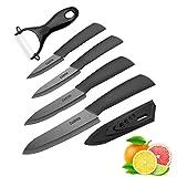 Couteau en céramique ,Cadrim Ensembles de couteaux de cuisine Couteaux chef...