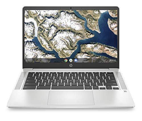 HP Chromebook 14-inch HD Laptop, Intel Celeron...