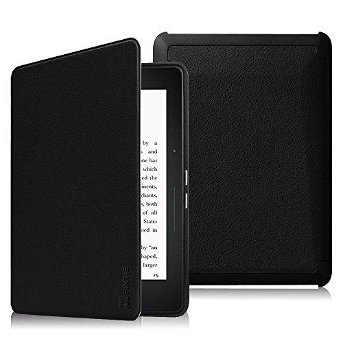 FINTIE Étui pour Kindle Voyage - Housse Coque Flip en Cuir Super Fin et...