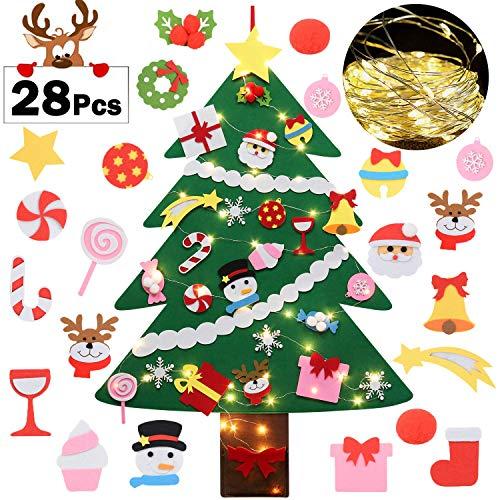 Fascigirl Árbol de Navidad de Fieltro, 39 Inch DIY Navidad
